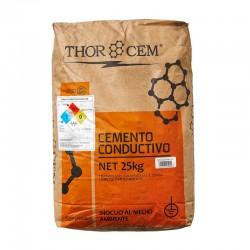 Cemento Conductivo 25 Kg.
