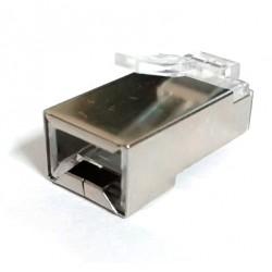 Conector Plug Blindado Cat. 5e