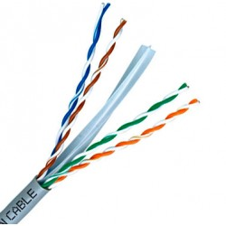 UTP Cat.6 Cable Sólido 4 pares 23 AWG
