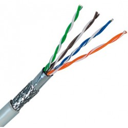 SFTP Cat.5e Cable Sólido 4 pares 23 AWG