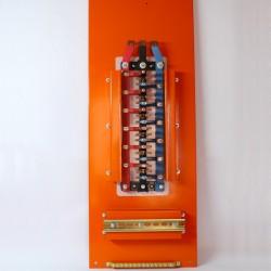 Tablero con barras de cobre T/R + LLAVE DE FUERZA + DIFERENCIALES