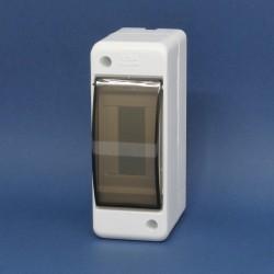 Tablero Adosable con Tapa para Interruptor Termico tipo riel DIN