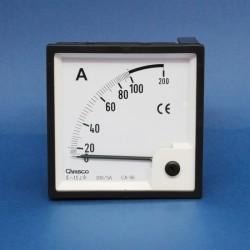 Amperimetro analógico