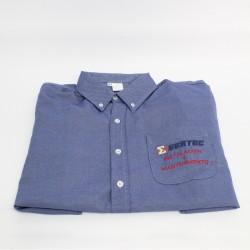 Camisa de algodón con logo bajo pedido