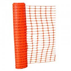 Malla Cerco de Seguridad Plástica Naranja