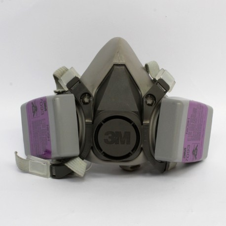 Respirador de Pieza Facial de Media Cara 2 filtros 3M MOD 6200-07025
