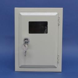 Caja Portamedidor de Luz Metálica Monofasico