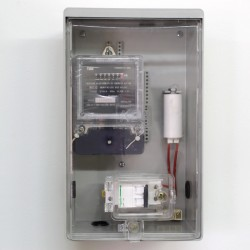 Caja Portamedidor de Luz Plástica