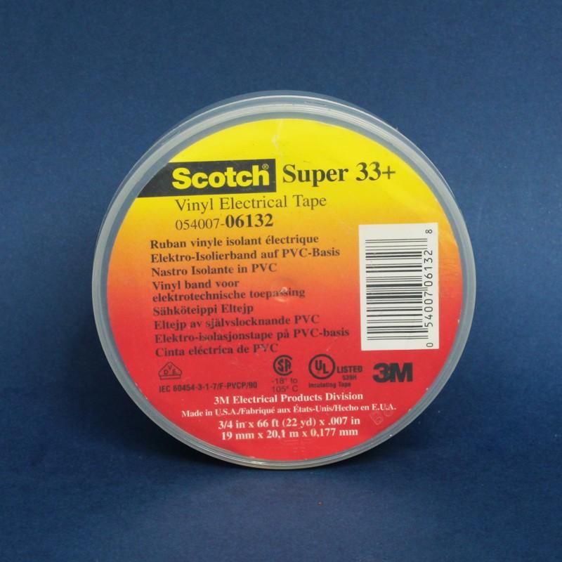 Cinta aislante 3m scotch super 33 for Cinta aislante vulcanizada