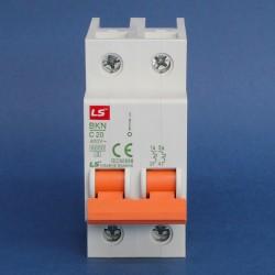 Interruptores Riel Din Serie BKN 6KA/400V 10KA/230V Marca LS