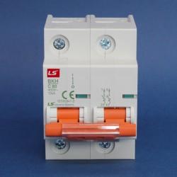 Interruptores Riel Din Industriales Serie BKH 15KA/230V - 10KA/400V Marca LS