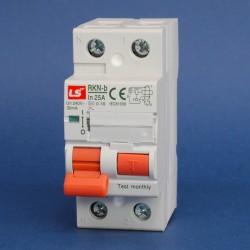 Interruptores Diferenciales IEC Tipo A Inmunizado Serie RKN-b 30mA Marca LS