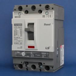 Interruptores Automáticos de Baja Tensión SUSOL Regulables - Alta Capacidad Serie TD-100 Marca LS