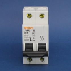 Interruptores Termomagnetico ROGY Serie JVM21-63 10KA/230V - 6KA/400V