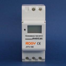 Interruptor Horario Digital 180 - 280 VAC, 50/60 Hz, Programación Semanal 1 NO más 1NC